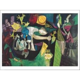 Picasso - Pesca nocturna en Antibes