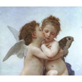 Bouguereau - El primer beso (parte)