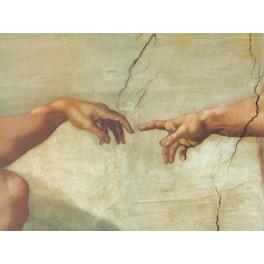 Miguel Angel - La creación (manos)