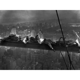 Nueva York - Obreros tumbados en la viga