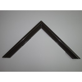 Moldura Aluminio Marrón