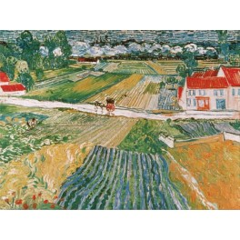 Van Gogh - Paisaje en Auvers despues de la lluvia