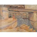 Van Gogh -  El puente de Asniers