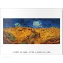 Van Gogh - Campo de grano con cuervos