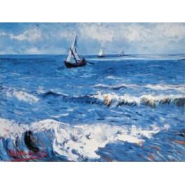 Van Gogh - Paisaje marino