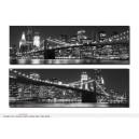 CUADRO LUZ 140X45X3 LEDS CIUDAD NEW YORK 2MOD.