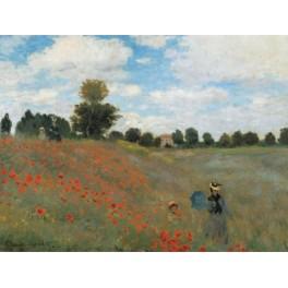 Monet - Campo floreciendo en Argenteuil
