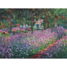 Monet - El jardín del artista en Giberny
