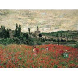 Monet - Campos de amapolas en Vetheuil
