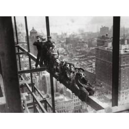 Nueva York - Obreros en andamio