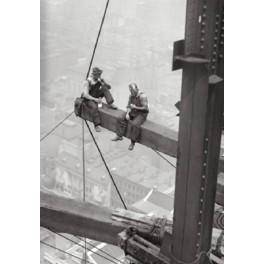 Nueva York - Obreros sentados en viga