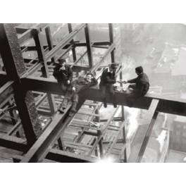 Nueva York - Obreros almorzando en viga