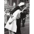Nueva York - Beso de despedida a la guerra en Times Square