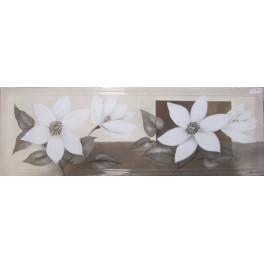 Lienzo pintado a mano - flores