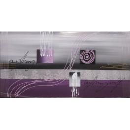 Lienzo pintado a mano - abstracto