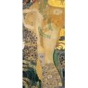 Gustav Klimt - La serpiente de agua