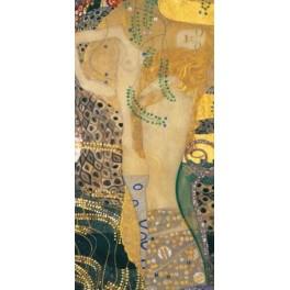 Gustav Klimt - Serpientes acuáticas dorada
