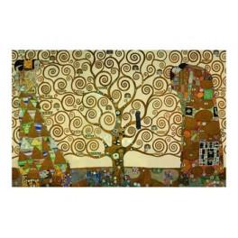 Gustav Klimt - El árbol de la vida (Tintas metálicas)