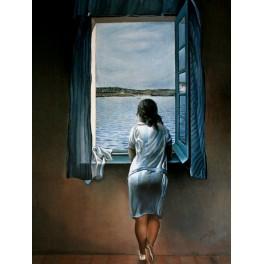 Dalí - Mujer en la ventana