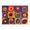 Kandinsky - Estudio de color: Cuadrados