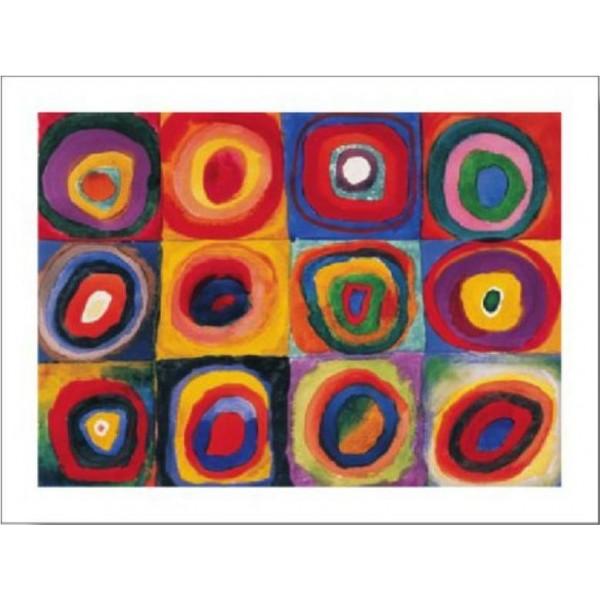 kandinsky estudio de color cuadrados deco cuadros rivero