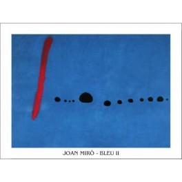 Miró - Azul II